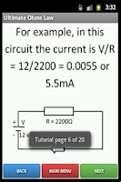 Screenshot of Ultimate Ohm's Law