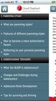 Screenshot of AusParentingApp