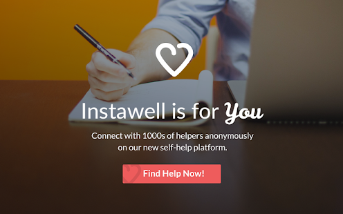 Instawell screenshot
