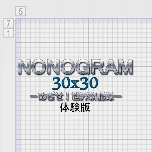Nonogram 30x30 Trial
