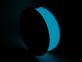 Blue Glow in the Dark PLA Filament - 1.75mm