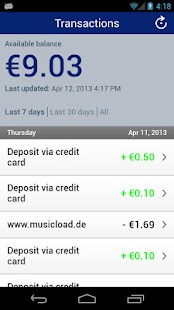 Visa Mobile Prepaid - screenshot thumbnail