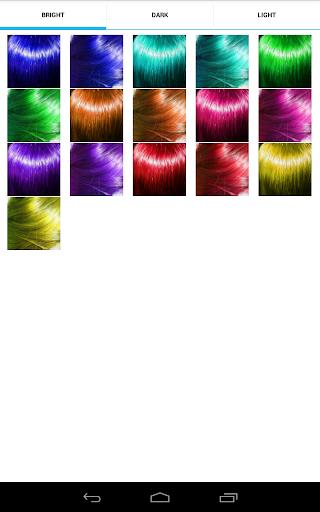 NiceHair - Hair Color Changer для планшетов на Android