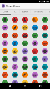 Hexify Icon Pack v1.10