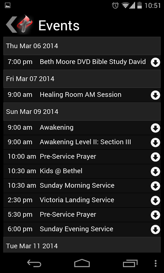 Bethel Christian Assembly- screenshot