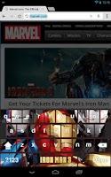 Screenshot of Iron Man 3 Keyboard