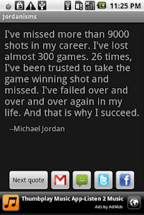 Jordanisms - screenshot thumbnail