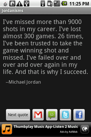 Jordanisms - screenshot