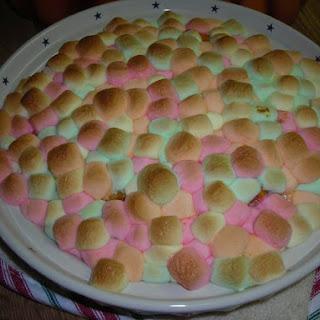 Marshmallow Sweet Potatoes