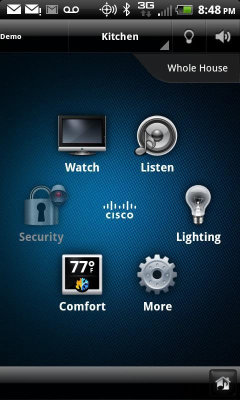 Cisco SC Residence - screenshot