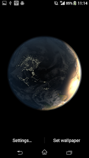 Earth Live Wallpaper- screenshot thumbnail