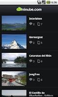 Screenshot of Suiza - Guía de viajes