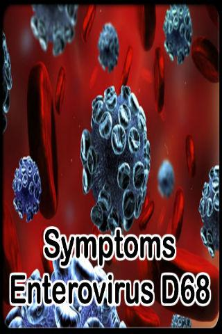 Symptoms Enterovirus D68