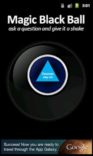 Magic Black Ball