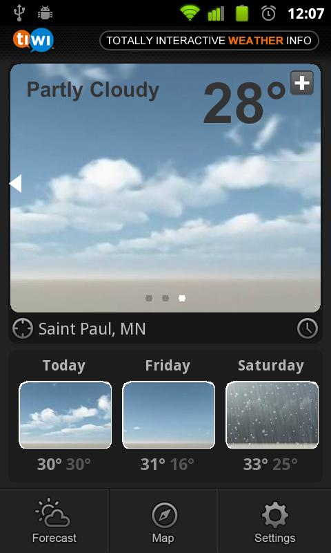 TiWi Weather - screenshot