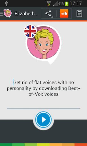 Elizabeth TTS voice English