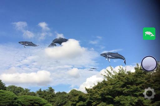 くじらカメラ 空のクジラを見にいこう!
