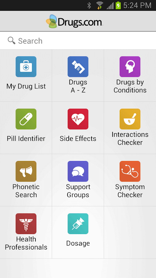 Drugs.com Medication Guide - screenshot