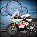 Triumph Moto Racer Widget LWP icon