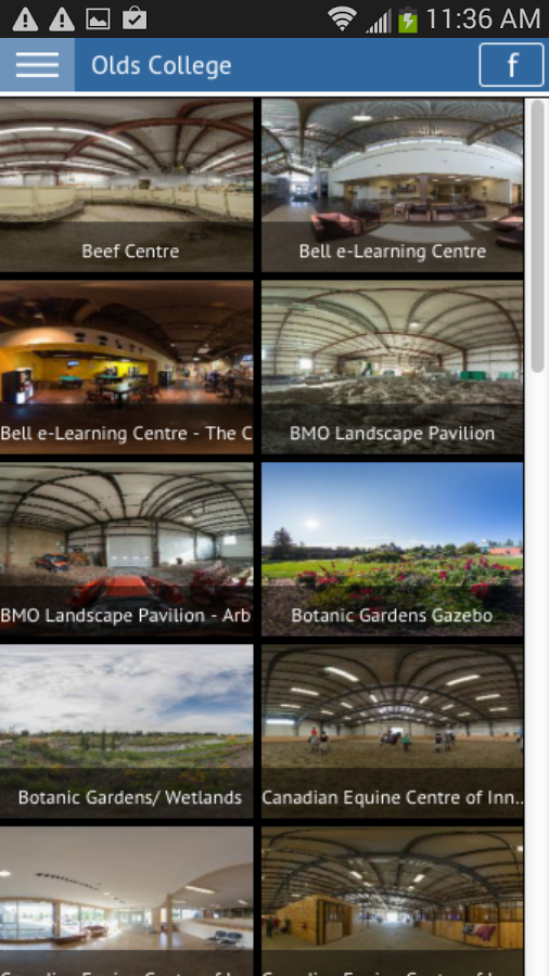 Olds College- screenshot