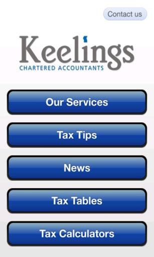 Keelings Tax App