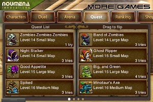 Screenshot of Duel: Blade & Magic