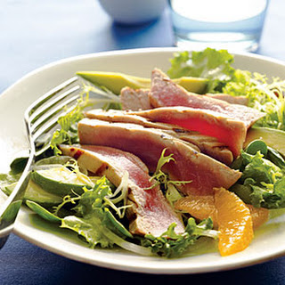 Grilled Tuna Citrus Salad Recipe