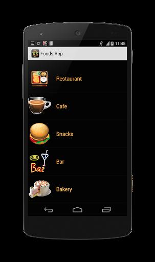 Foods App