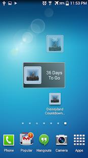 Disneyland Countdown Deluxe