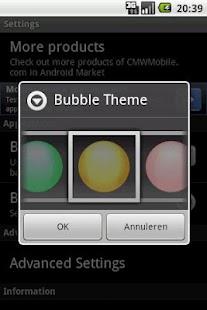 Bubbles Live Wallpaper- screenshot thumbnail