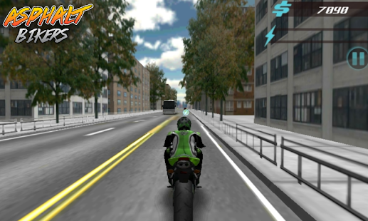 Asphalt Bikers FREE- screenshot thumbnail