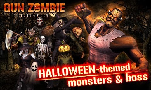 GUN ZOMBIE : HALLOWEEN - screenshot thumbnail