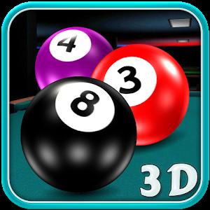 實 球 水池 台球: Pool Billiards 3D 體育競技 App LOGO-硬是要APP