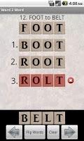 Screenshot of Word 2 Word