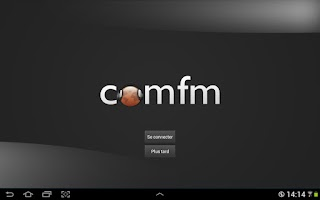 Screenshot of COMFM Radio