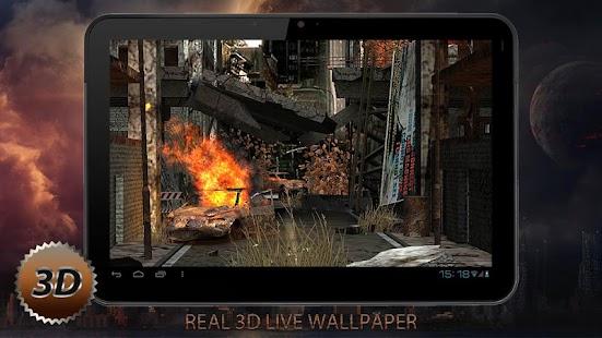 Apocalypse Free 3D LWP - screenshot thumbnail