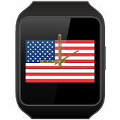 JJW USA Flag Watch Face