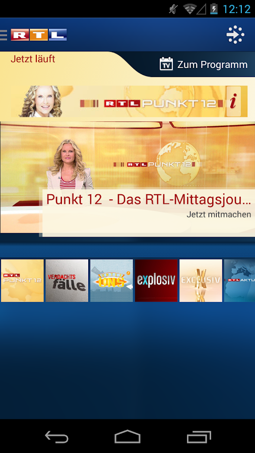 RTL INSIDE - screenshot