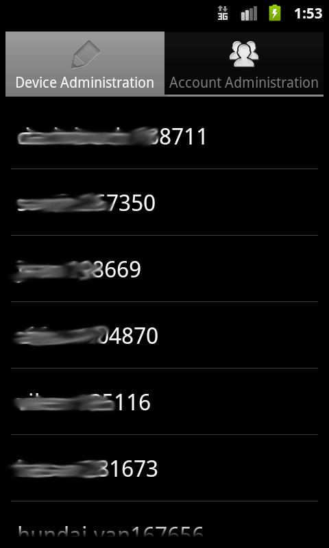 DiscoveryTrack Tracking App- screenshot