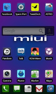 ADW.THEME MIUI Square - screenshot thumbnail