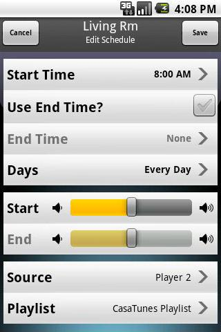 CasaTunes Multi-Room Control - screenshot