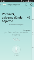 Screenshot of Learn Languages: Spanish
