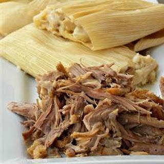 Pork for Tamales