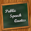 Public Speech Quotes icon