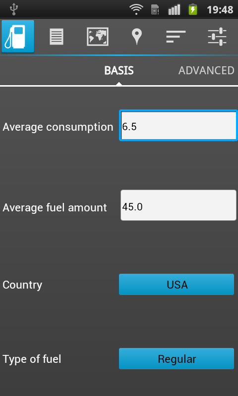 FuelHound Cheap Gas Prices USA - screenshot