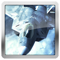F22 Raptor Air Combat HD LWP icon