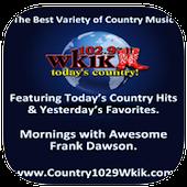 Country 102.9 WKIK, 102.9 FM