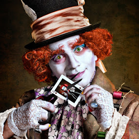 Mad Hatter by Liviu Mihai - People Portraits of Men ( alice in wonderland contest mad hatter liviu mihai photography liviumphotography )