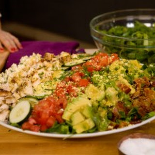 Cobb Salad with Blue Cheese Vinaigrette