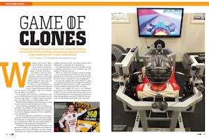 Screenshot of V8X Supercar Magazine
